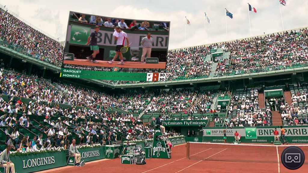 roland garros vr la r alit virtuelle d barque dans le sport topgeek blog. Black Bedroom Furniture Sets. Home Design Ideas